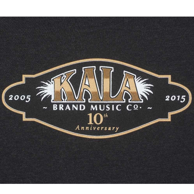 Kala Tenth Anniversary Logo Tee Shirt, Size Small, Artwork On the Back