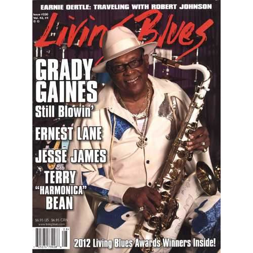 Living Blues August 2012 - Issue #220, Vol. 43 #4
