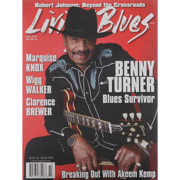 Living Blues October 2017 - Issue #251, Vol. 48 #5