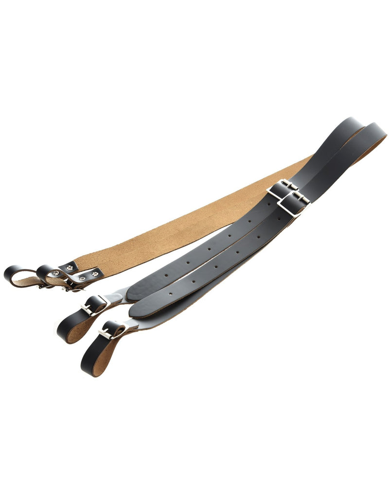 Levy Leather Accordion Strap