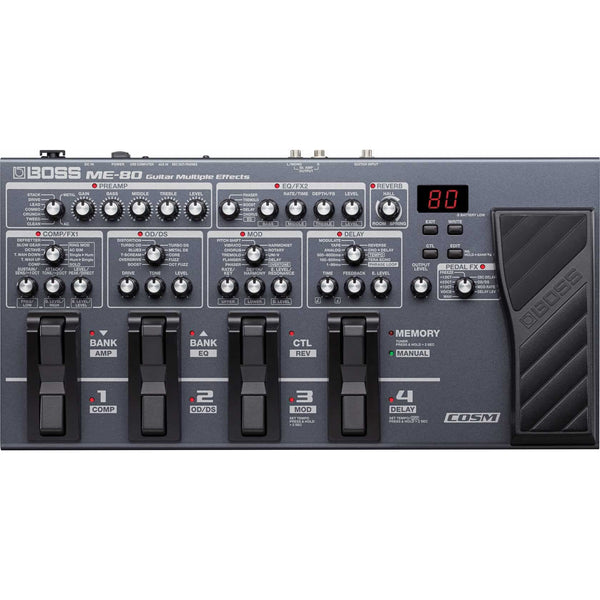 Boss ME-80 Guitar Multiple Effects Processor