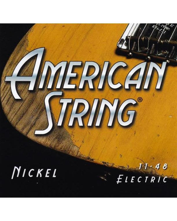 American String Pure Nickel Medium Electric Guitar Strings