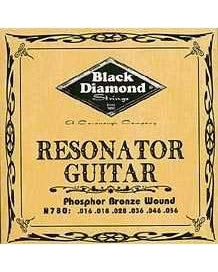 Black Diamond N780 Phosphor Bronze Wound Resonator Guitar Set