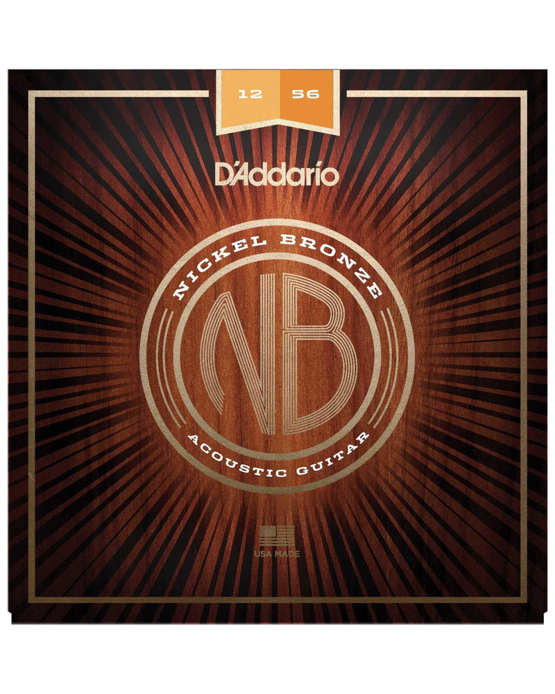 D'Addario Nickel Bronze Light Top / Medium Bottom Acoustic Guitar Strings