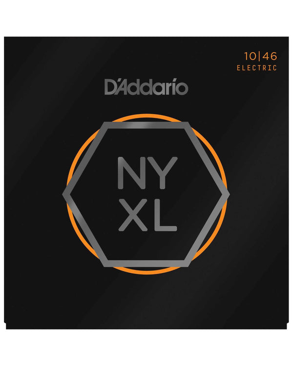 D'Addario NYXL Flexsteel Light Gauge Electric Guitar Strings