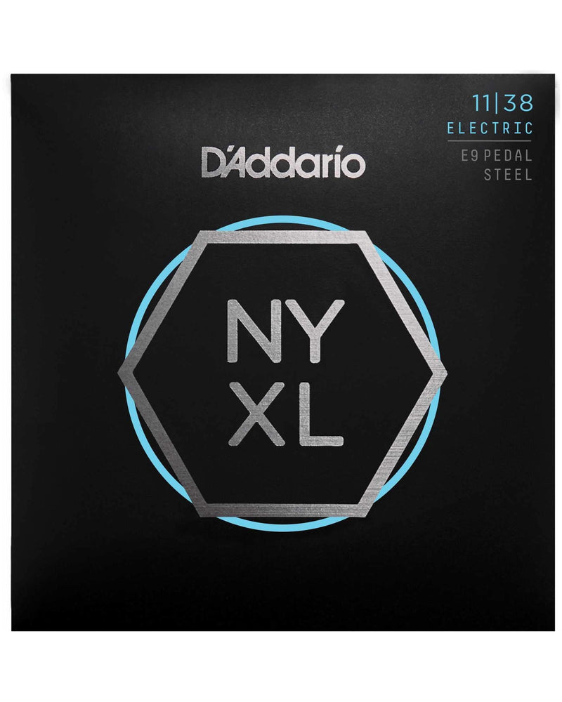 D'Addario NYXL E9 Pedal Steel Light Gauge Guitar Strings