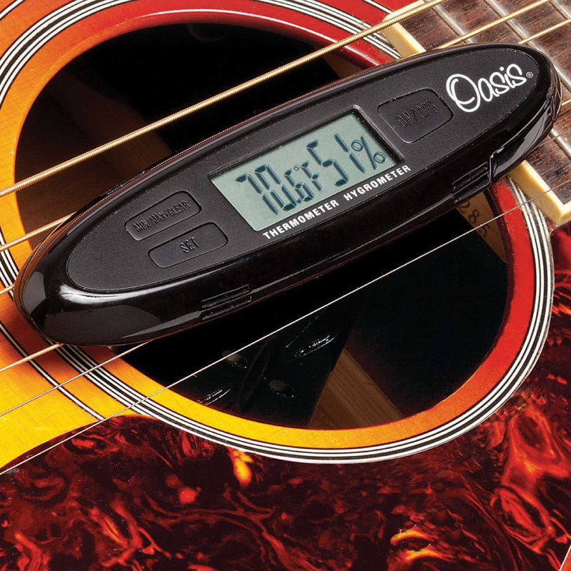 Oasis OH-30 HH Humidifier-Hygrometer Combo for Guitars