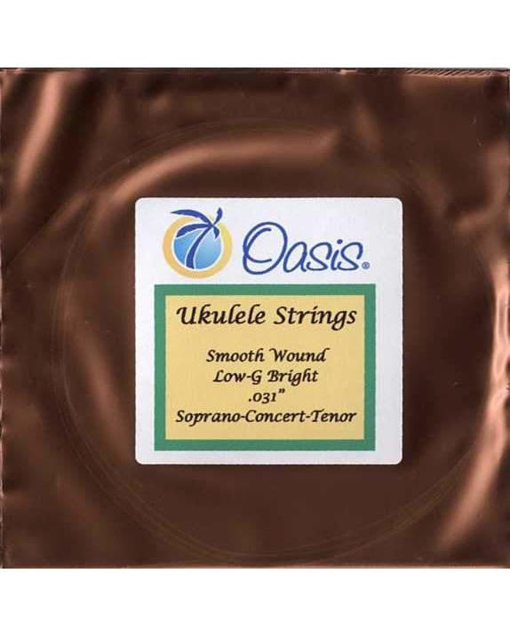 Oasis UKE-4SB Single Uke String, Smooth Wound Bright 4th