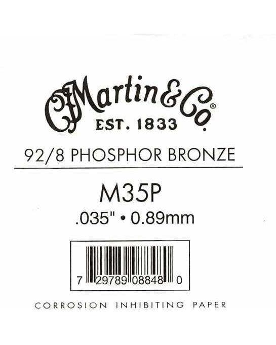 Martin Phosphor Bronze Wound Ball End Single String .035