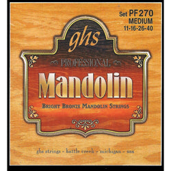 GHS PF270 Bright Bronze Medium Gauge Mandolin Strings