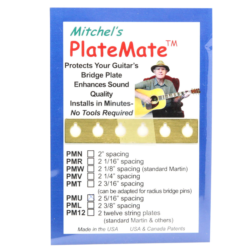 "Mitchel's Acoustic Guitar ""Plate Mate"", 2 5/16"" Spacing"