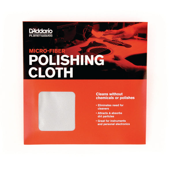 D'Addario Planet Waves Micro-Fiber Polishing Cloth