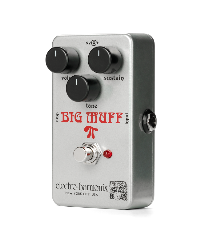 Electro Harmonix Ram's Head Big Muff PI Distortion/Sustainer Pedal
