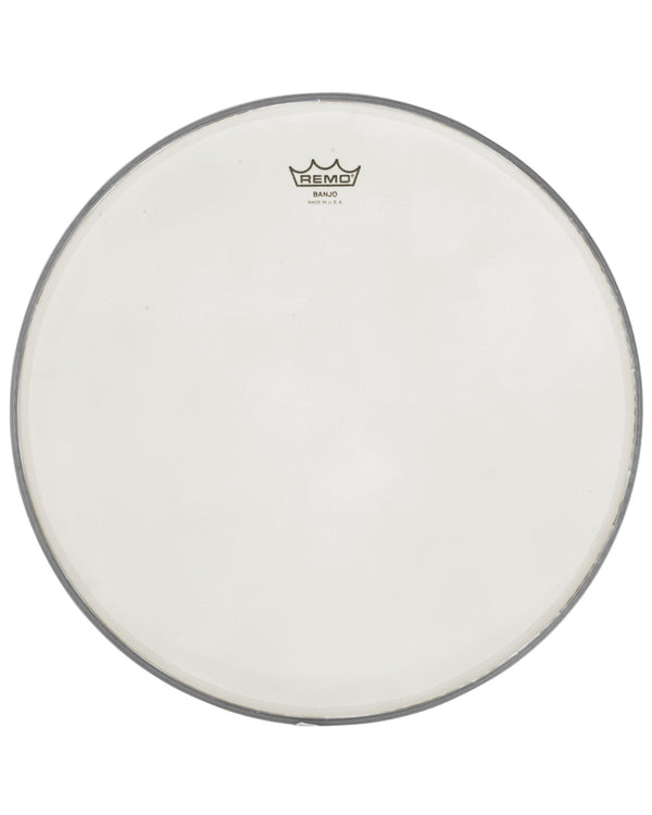 Remo Cloudy Banjo Head, 11 Inch Diameter, Low Crown (3/8 Inch)