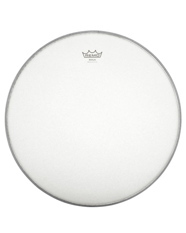 Remo Frosted Top Banjo Head, 10 7/8 Inch Diameter, Medium Crown (7/16 Inch)