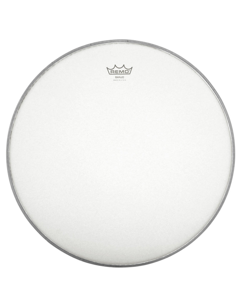 REMO FROSTED TOP BANJO HEAD, 10 9/16 INCH DIAMETER, HIGH CROWN (1/2 INCH)
