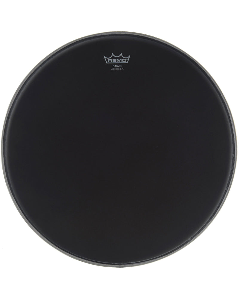 Remo Ebony Banjo Head, 11 Inch Diameter, High Crown (1/2 Inch)