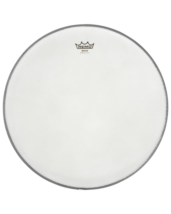 Remo Frosted Bottom Banjo Head, 11 13/16 Inch Diameter, High Crown (1/2 Inch) -