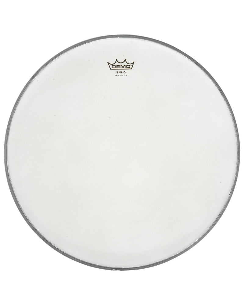 Remo Frosted Bottom Banjo Head, 10 5/8 Inch Diameter, Medium Crown (7/16 Inch) -