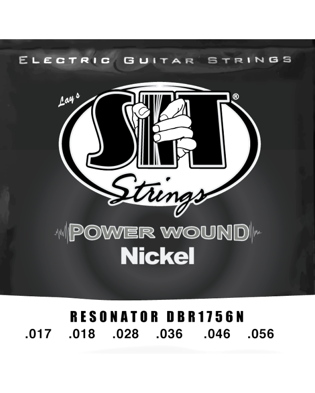 SIT DBR1756N Resonator Guitar Strings, Nickel Plated Steel Wound