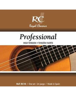 Royal Classics RC10 Professional Classical Guitar Strings, High Tension, Full Set