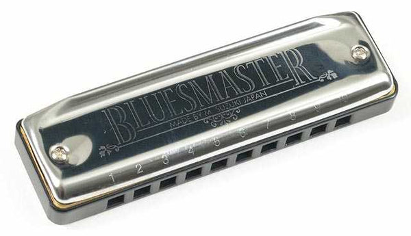 Suzuki MR250 Bluesmaster Harmonica, Key of D