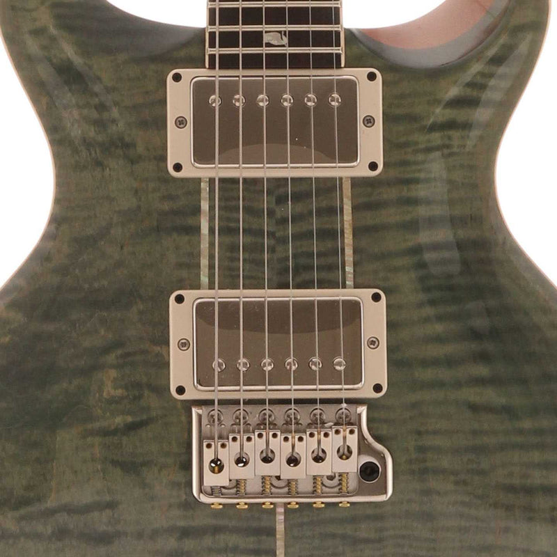 PRS Santana Retro Electric Guitar with Case, Trampas Green (2017)