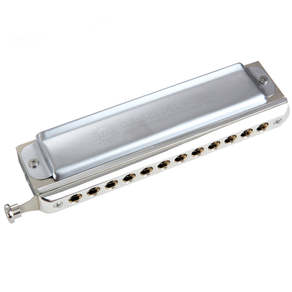Seydel Saxony 12-Hole Chromatic Harmonica, Key of C