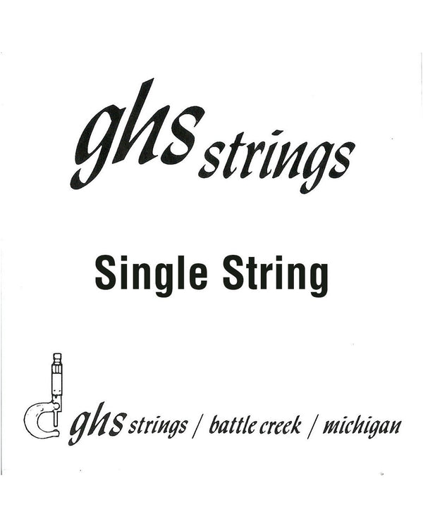 GHS L08 Plain Steel Loop End Single String 008
