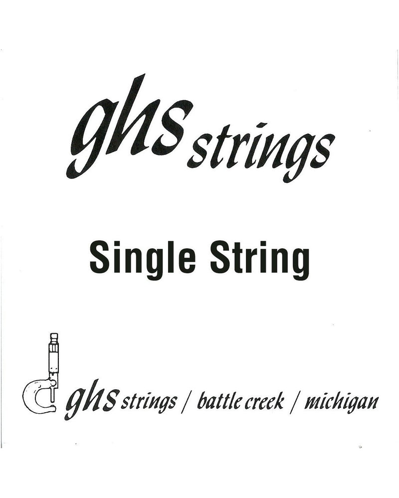 GHS L10 Plain Steel Loop End Single String 010