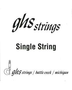 GHS LW20 Stainless Steel Wound Loop End Single String 020