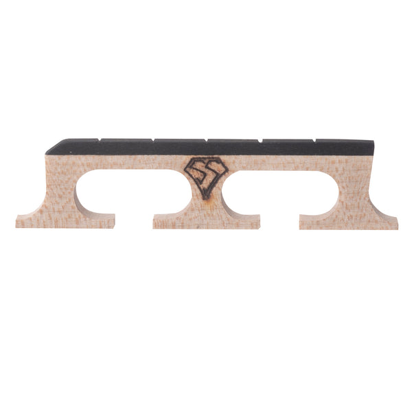 "Snuffy Smith New Generation Banjo Bridge, 11/16"" High with Standard Spacing"