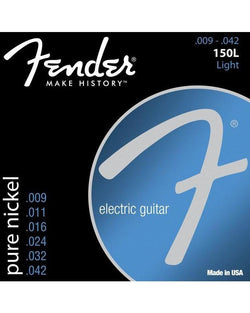 Fender 150L Original Pure Nickel Light Electric Guitar Strings
