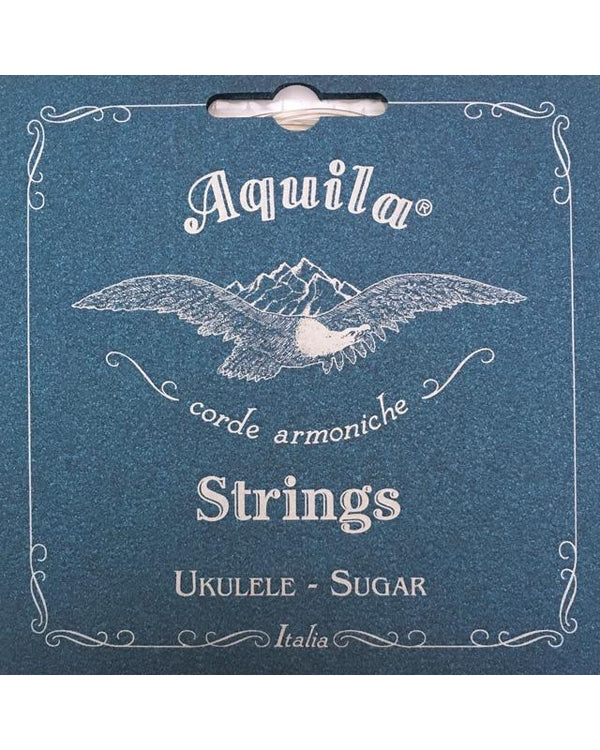"AQUILA 150U ""SUGAR"" SOPRANO UKULELE STRINGS, HIGH G TUNING"
