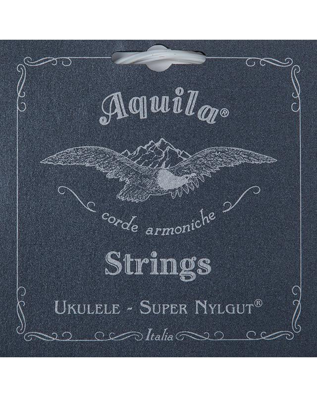 Aquila 101U Soprano Ukulele String Set (Low G), Super Nylgut