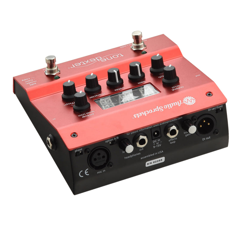 Audio Sprockets ToneDexter Acoustic Instrument PreAmp Pedal