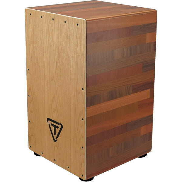 Tycoon Percussion 29 Series Box Cajon - American White Ash Front Plate and Body-Wood Mixture