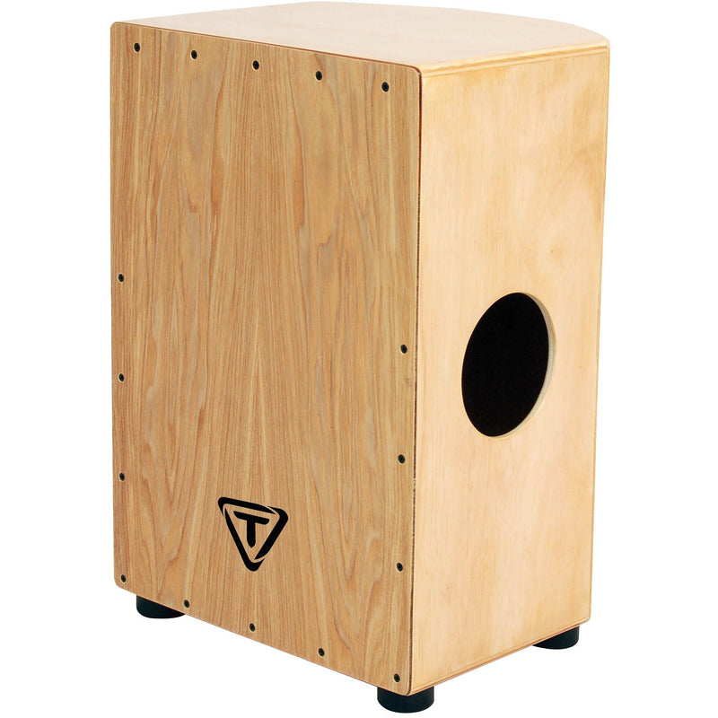 Tycoon Percussion 35 Roundback Series Cajon - North American Ash Front Plate