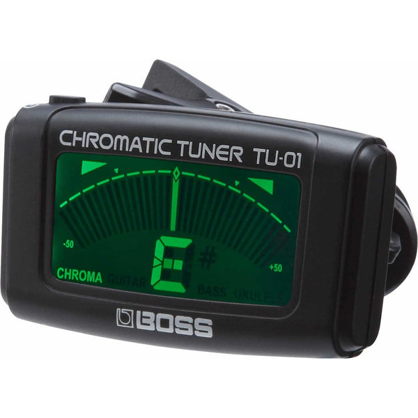 Boss TU-01 Clip-On Chromatic Electronic Tuner