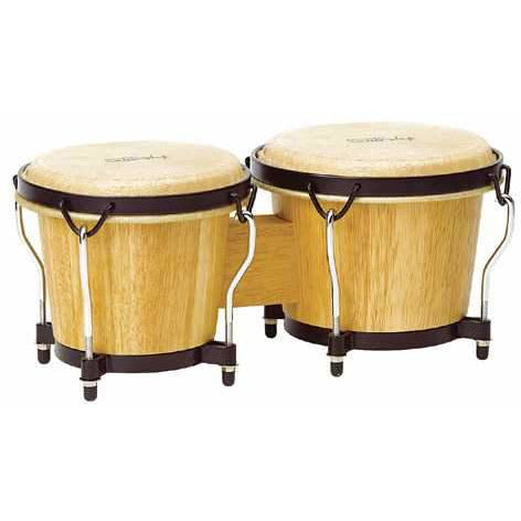 Tycoon Percussion Ritmo Series Natural Finish Bongos