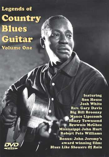 DVD - Legends of Country Blues Guitar, Vol. 1
