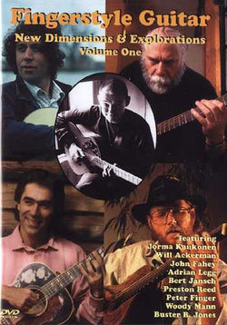 DVD - Fingerstyle Guitar: New Dimensions & Explorations, Vol. 1