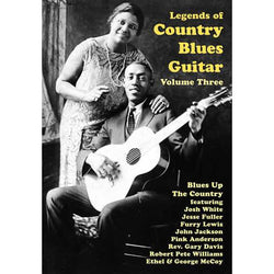 DVD - Legends of Country Blues Guitar, Vol. 3