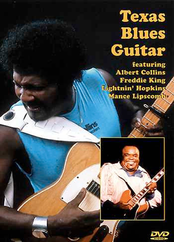 DVD - Texas Blues Guitar