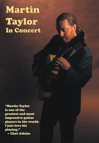 DVD - Martin Taylor in Concert