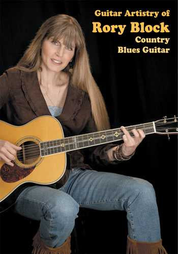 DVD - Guitar Artistry of Rory Block: Country Blues Guitar