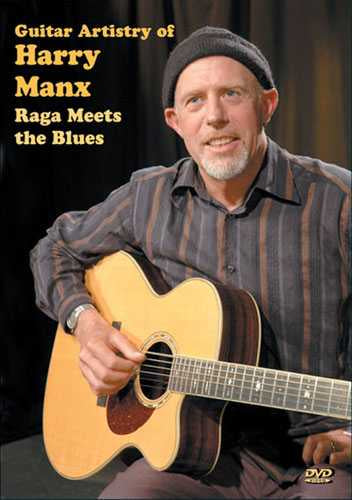 DVD - Guitar Artistry of Harry Manx: Raga Meets the Blues