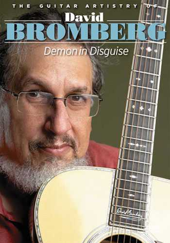 DVD-The Guitar Artistry of David Bromberg: Demon in Disguise