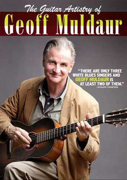 DVD-The Guitar Artistry of Geoff Muldaur
