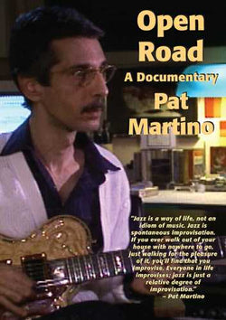 DVD - Pat Martino - Open Road-A Documentary